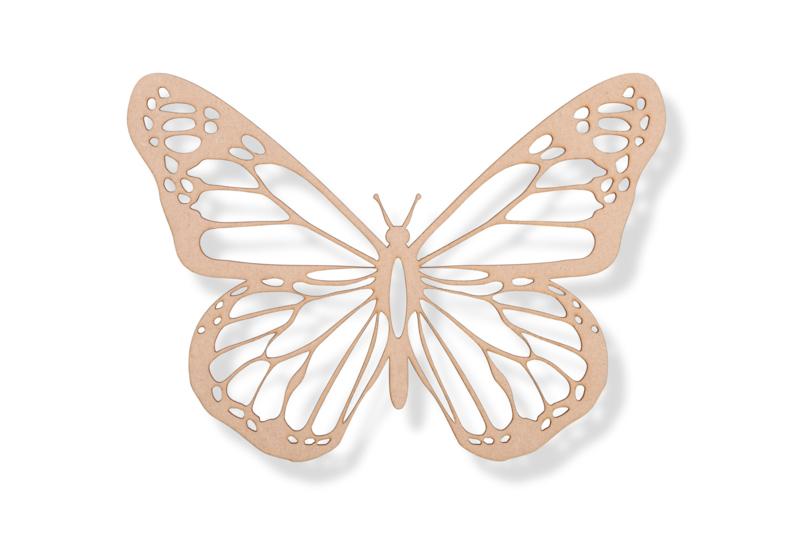 Vlinder (2) 50x37 cm