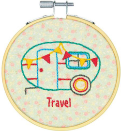 Embroidery kit Camper