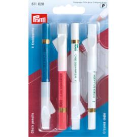 4 Chalk Pencils Prym