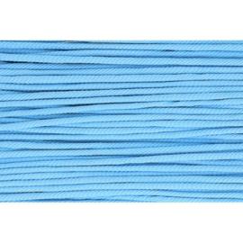 284 Licht blauw soepel koord 5mm