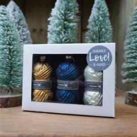 Durable Glazen Kerstballen