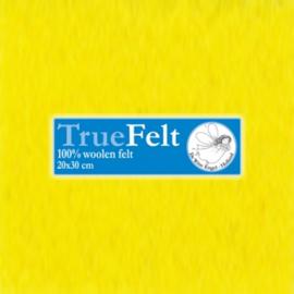 Geel 20 x 30cm TrueFelt