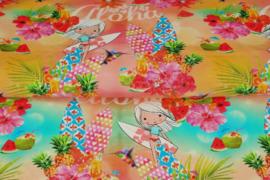 Aloha print Tricot - Stenzo