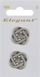 668 Elegant knopen