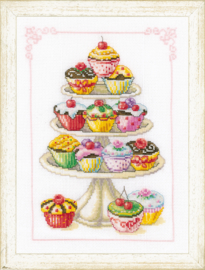 Cupcakes Aida Vervaco Telpakket