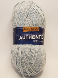 King Cole Authentic Cotton mix DK 1257 Blue Denim