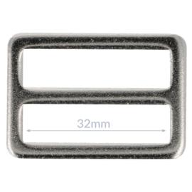 32mm Gesp metaal Nikkel