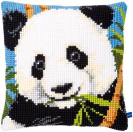 Panda Voorbedrukt Kruissteekkussen Vervaco