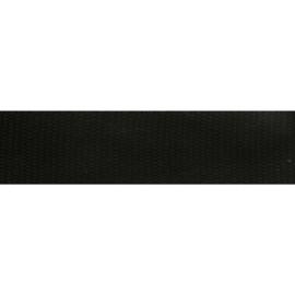 Stevig zwart Keper-/ tassenband 32mm