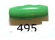 Groene Knoop 20mm Kunststof Knebel