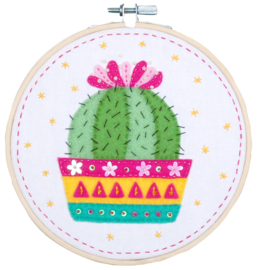 Cactus Vilt Knutselpakket Vervaco