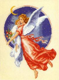 Angel in the sky Aida telpakket - Vervaco