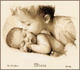Liefde van de Broer Aida Telpakket Vervaco