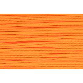 693 Oranje soepel koord 5mm