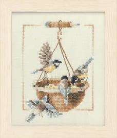 Voederbakje met vogels Eavenwave telpakket lanarte