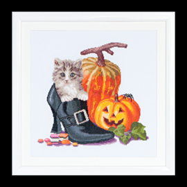 Halloween Kitten Aida Telpakket Thea gouverneur