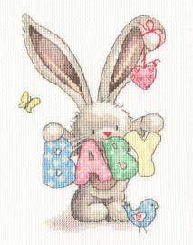 Baby by Bebunni Aida Borduurpakket Bothy Threads XBB20