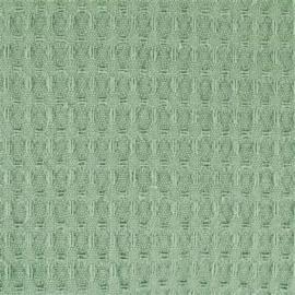 2134 Donker mint Wafelstof