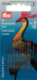 No. 5-10 Crewelnaalden Prym