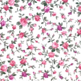 Roosjes Tissu de Marie stof 145cm breed