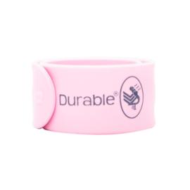 Roze Durable Klaparmband 21 x 2,5cm