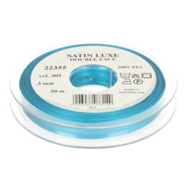 303 3mm Lint Satin Luxe Double face p.m. / per 3.3 feet