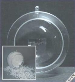 Plastic Bol met Opening 12cm