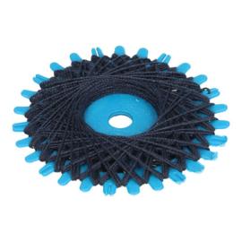 Navy Blue Button Thread
