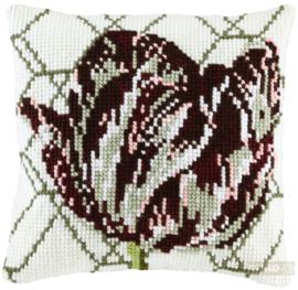 Tulp kruissteekkussen - Pako
