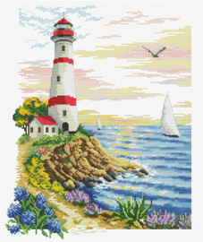 Lighthouse Cape Borduurpakket Needleart World