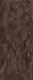 Bruin poppenhaar