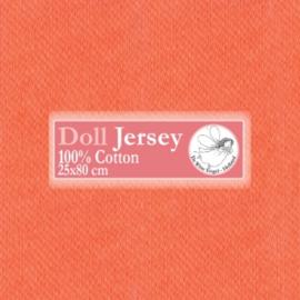 "Orange Doll Jersey 25x80cm / 9.8""x31.5"""