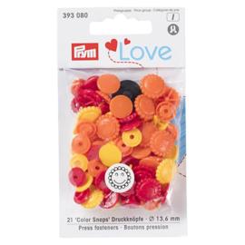 Bloem Color Snaps  Geel/ Oranje/ Rood
