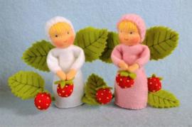 Aardbei zusjes Atelier Pippilotta