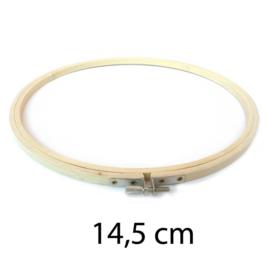 14,5 cm Houten borduurring
