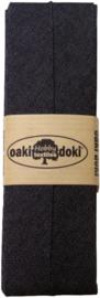 Zwart Jeans Biaisband Oaki Doki