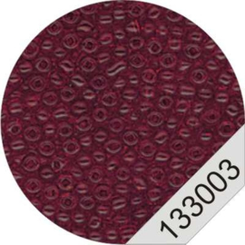 3003 Red Rocailles Beads Le Suh