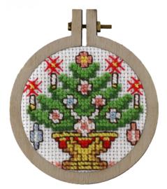 Kerstboom kersthanger Aida Telpakket Pako