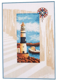 Seashore Pre Printed Canvas Lanarte