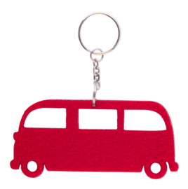 Red Velt VW T1 Key Ring