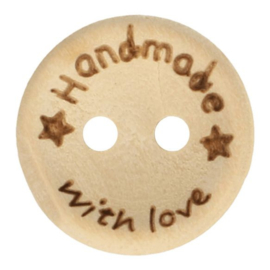 15mm Handemade with Love Knoop Ster