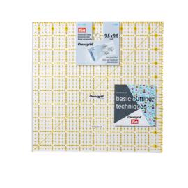 9,5 x 9,5 inch Omnigrid Liniaal Prym