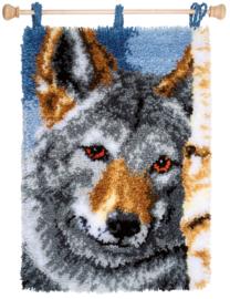Wolf Knoopkleed pakket Vervaco