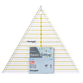 Driehoek 60° 8 inch Omnigrid Patchwork liniaal Prym