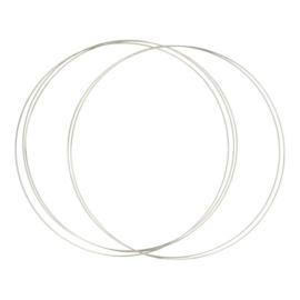20cm RVS ring Opry