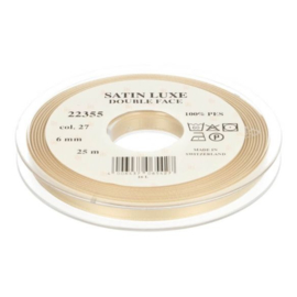27 6mm Lint Satin Luxe Double face p.m.