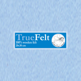 Heel Zachtblauw 20 x 30cm TrueFelt