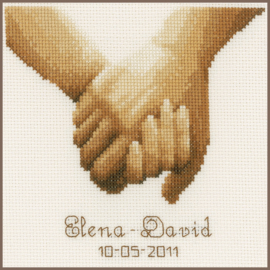 Hand in hand telpakket - Vervaco