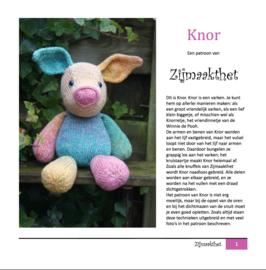 Knor Patroonboekje ZijMaaktHet