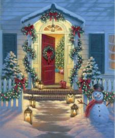 A Classic Christmas P9542 - paneel